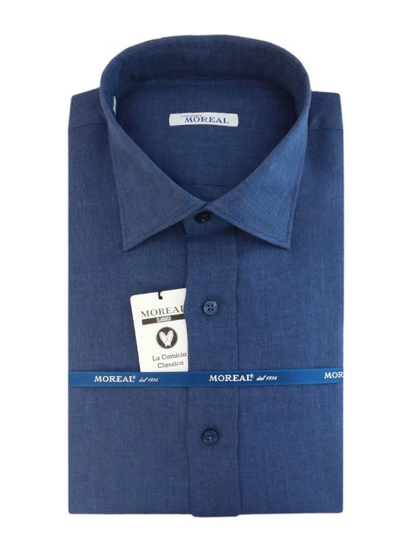 BLUE 100% LINEN STRIPED (RCLI003000)