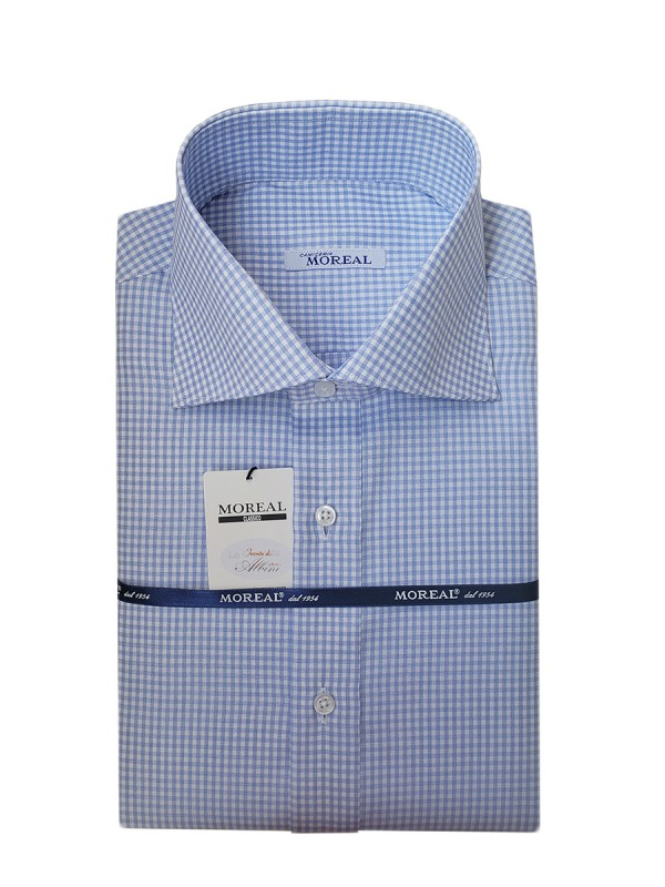 OXFORD CELESTE QUADRETTO 100% COTONE RC YORK(RCOX015515)