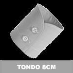 POLSO TONDO 2 BOTTONI 8 CM