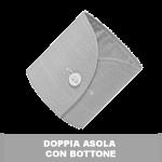 DOPPIA ASOLA  CON BOTTONE