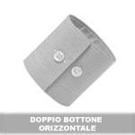 DOPPIO BOTTONE ORIZZONTALE